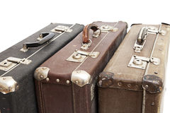 Old travelling suitcases Stock Image