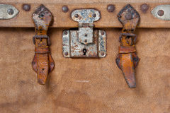 Old travelling trunk Royalty Free Stock Image