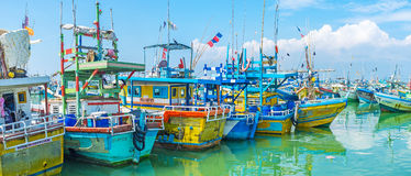 The old trawlers Royalty Free Stock Photos