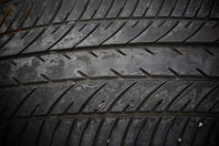 Old tread tire Royalty Free Stock Photography