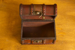 Old treasure chest or box Stock Photography