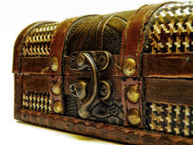 Old treasure chest Stock Photo