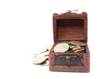 Old treasure chest Royalty Free Stock Photography