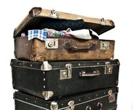 Antique treasure chests. Royalty Free Stock Photo