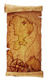 Old Treasure Map Stock Photos