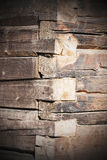 Old tree trunk wall Royalty Free Stock Photo