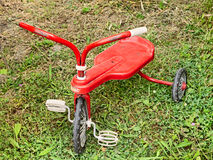 Old tricycle for children Royalty Free Stock Photo