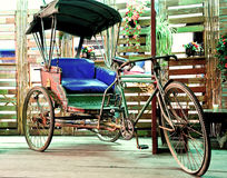 Old tricycle in Thailand Royalty Free Stock Photo