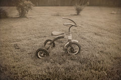 Old tricycle Royalty Free Stock Photos