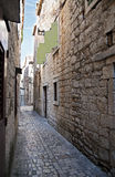 Old Trogir street Royalty Free Stock Image