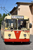 Old trolley bus Stock Image