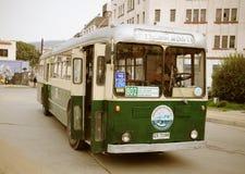 Old trolleybus. Royalty Free Stock Image