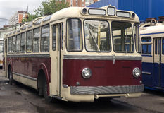 Old trolleybus 2 Royalty Free Stock Image