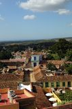 Old tropical city. The city of Trinidad on Cuba stock photo