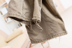 Old trousers Royalty Free Stock Photos