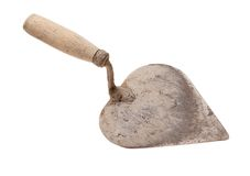 Old trowel Royalty Free Stock Photo