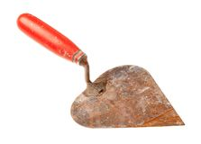 Old trowel Stock Photo