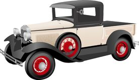 Old Truck. Illustration of an old pick up truck Stock Image