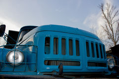 Old truck. Military might of the Russian army Stock Image