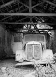 Old Truck. An old truck in a shed Stock Photography