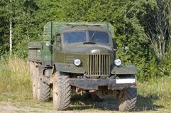 Old Truck. ZIL-157 truck. Years 1958-1961 gg Stock Photography