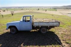 Australia Farming Farm. Old truck in a paddock in Yerong Creek, New South Wales, Australia stock photos