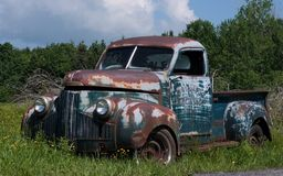 Old truck Royalty Free Stock Photo