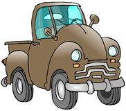 Old Truck Stock Image