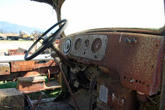 Old truck cab Royalty Free Stock Photo