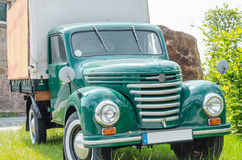 Old truck, classic car Stock Photo