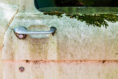 Old Truck Door Handle Stock Photos