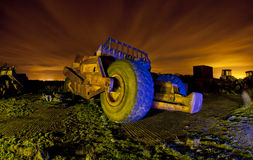 Old truck in a dumping ground Royalty Free Stock Photography