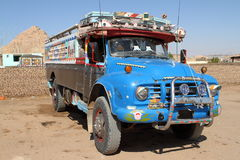 Old Truck in Egypt. An Old Truck in Egypt Stock Photography