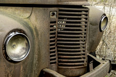 Old Truck. Front end of an old truck Stock Images