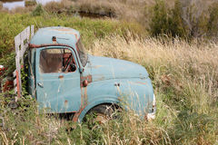 Old truck in grass Stock Photos