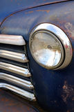 Old Truck Grill and Headlights Royalty Free Stock Photos
