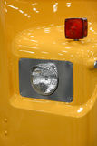 Old truck head lamp Stock Images