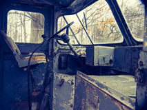 The old truck of my grandfather. Photo taken from an individual who has several old trucks Stock Image