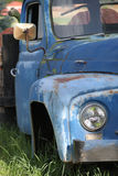 Old Truck with Pumpkins Stock Images