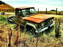 Old jeep truck Royalty Free Stock Images