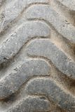 Old Truck Tire. Close Up Royalty Free Stock Images