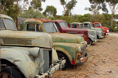 Old Trucks, Australia Royalty Free Stock Image