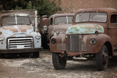 Old trucks Royalty Free Stock Image