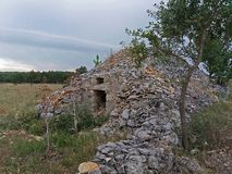 Old trullo stock images
