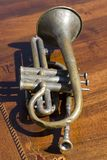 Old Trumpet Stock Photos