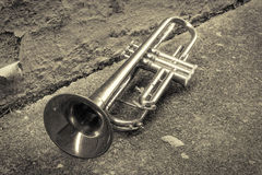 Old Trumpet Alleyway Royalty Free Stock Photo