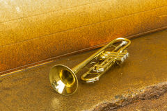 Old Trumpet Stock Image