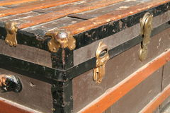 Old trunk Stock Photography