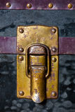 Old trunk lock Stock Photos