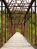 Old Truss Bridge Stock Photography